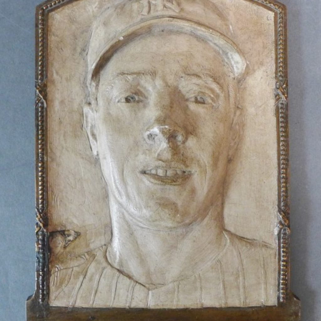 Joe DiMaggio Relief Plaque, Lot 558